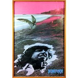 Donovan Rare 1960s Psychedelic Poster Framed