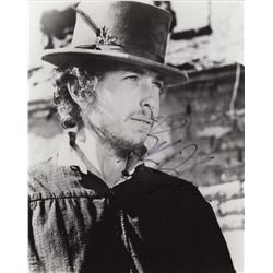 Bob Dylan Signed 8x10 Black & White Portrait