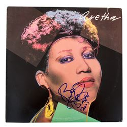 "Aretha Franklin Signed ""Aretha"" LP Record"