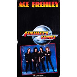 """Ace Frehley """"Frehley's Comet"""" Promotional Poster"""
