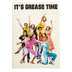 Original 1978 Grease Screener Card
