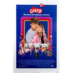 Original 1982 Grease 2 Promotional Poster