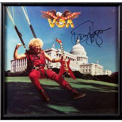 "Sammy Hagar Autographed ""VOA"" Album Framed"