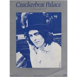 "George Harrison ""Crackerbox Palace"" Sheet Music"