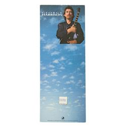 "George Harrison ""Cloud Nine"" Promo Header Card"