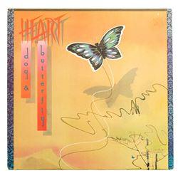 "Heart Autographed ""Dog & Butterfly"" LP Album"