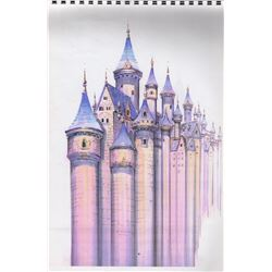Rodgers and Hammerstein's Cinderella Production Sketches by Ron Croci