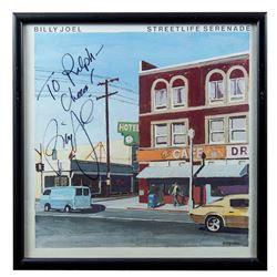 """Billy Joel Autographed """"Streetlife"""" Album Framed"""
