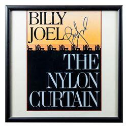 "Billy Joel Autographed ""The Nylon Curtain"" Album Framed"