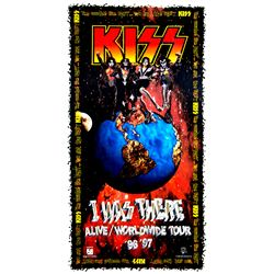 """KISS """"Alive/Worldwide"""" Tour Promotional Poster"""