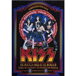 "KISS ""1996 Reunion Tour"" Promotional Poster"