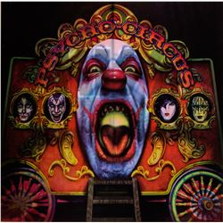"""KISS """"Psycho Circus"""" Lenticular promotional poster"""
