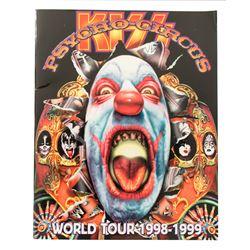 """KISS """"Psycho Circus"""" World Tour 1998-1999 Tour Book"""