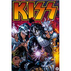 KISS Dark Horse Comics poster