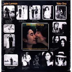 """John Lennon """"Milk And Honey"""" Promo Poster"""