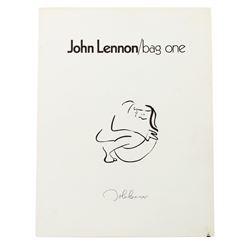 John Lennon Bag One Exhibition Program