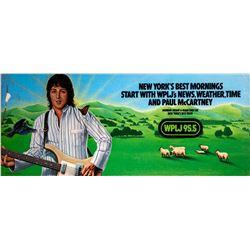 Paul McCartney WPLJ95.5 Promotional Poster