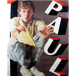 Paul McCartney Pipes of Peace Promotional Poster