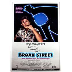 Paul McCartney Original One-sheet Poster for Broad Street