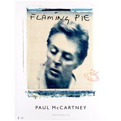 "Paul McCartney ""Flaming Pie"" promotional poster"
