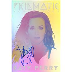 Katy Perry Signed Prismatic World Tour Program