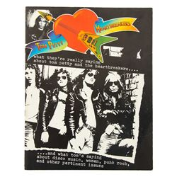 Tom Petty & The Heartbreakers Promotional Booklet