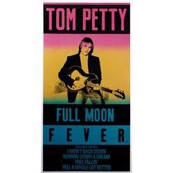 "Tom Petty ""Full Moon Fever"" Promotional Poster"