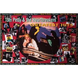 "Tom Petty & the Heartbreaker ""Greatest Hits"" promotional poster"