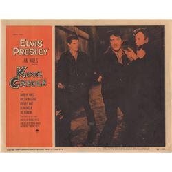 Elvis Presley Original 1958 King Creole Complete Set of 8 Lobby Cards