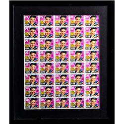 Framed Sheet of Limited Edition Elvis Presley Stamps