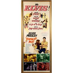 Elvis Presley Vintage 1965 Tickle Me Daybill