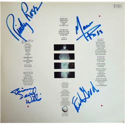 Quarterflash Self-Titled Debut Album Signed by 4 Band Members