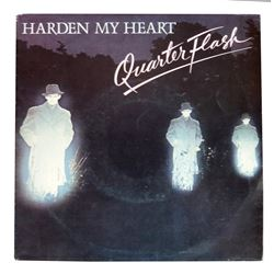 "Quarterflash ""Harden My Heart"" B/W ""Don't Be Lonely"" 45 RPM Record"