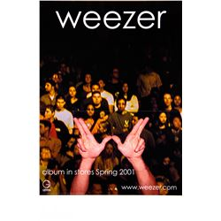 Collection of 9 Music Promotional Posters for US, No Doubt, Weezer, Garbage & Others