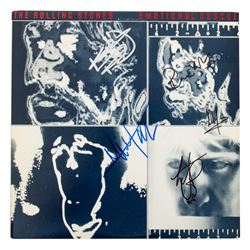 "Rolling Stones ""Emotional Rescue"" LP Record Signed by all 5 Band Members"