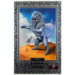 "The Rolling Stones ""Bridges to Babylon"" Poster Signed by the Band"