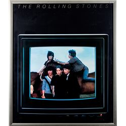 The Rolling Stones Original 1981 Promotional Poster