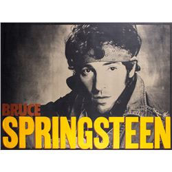 "Bruce Springsteen ""Born in the USA"" Original Promotional Poster"