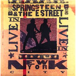 Bruce Springsteen & The E Street Band Live in New York City Poster