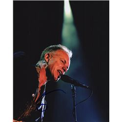 Sting Signed 8x10 Color Concert Photo