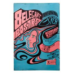 Collection of Swedish Psychedellic Rock Posters
