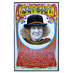 The Wavy Gravy 50th Birthday Benefit Poster Framed