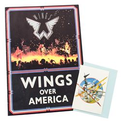 Wings Over America Concert Program