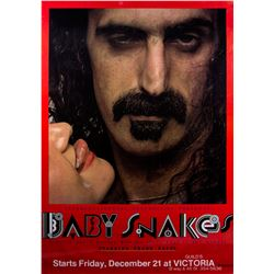 Frank Zappa Original One-sheet Poster for Baby Snakes