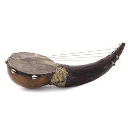 Late 19th Century African Horn Chordophone