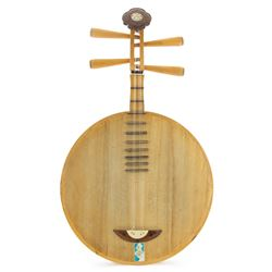 Yueqin Chinese Moon Guitar