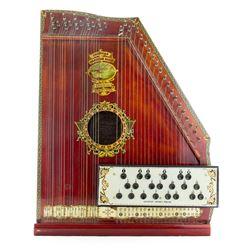 Vintage 1800s Oscar Schmidt American Mandolin Harp Guitar MINT