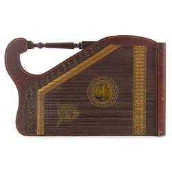 Vintage 1910 American Felix Schmidt Mandolin Guitar Scroll & Pillar Style