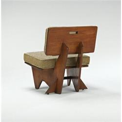 Admirable Frank Lloyd Wright Lounge Chair From The Robert Winn House Theyellowbook Wood Chair Design Ideas Theyellowbookinfo