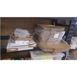 LOT OF ASSORTED SIZED CAKE BOXES 400 PLUS
